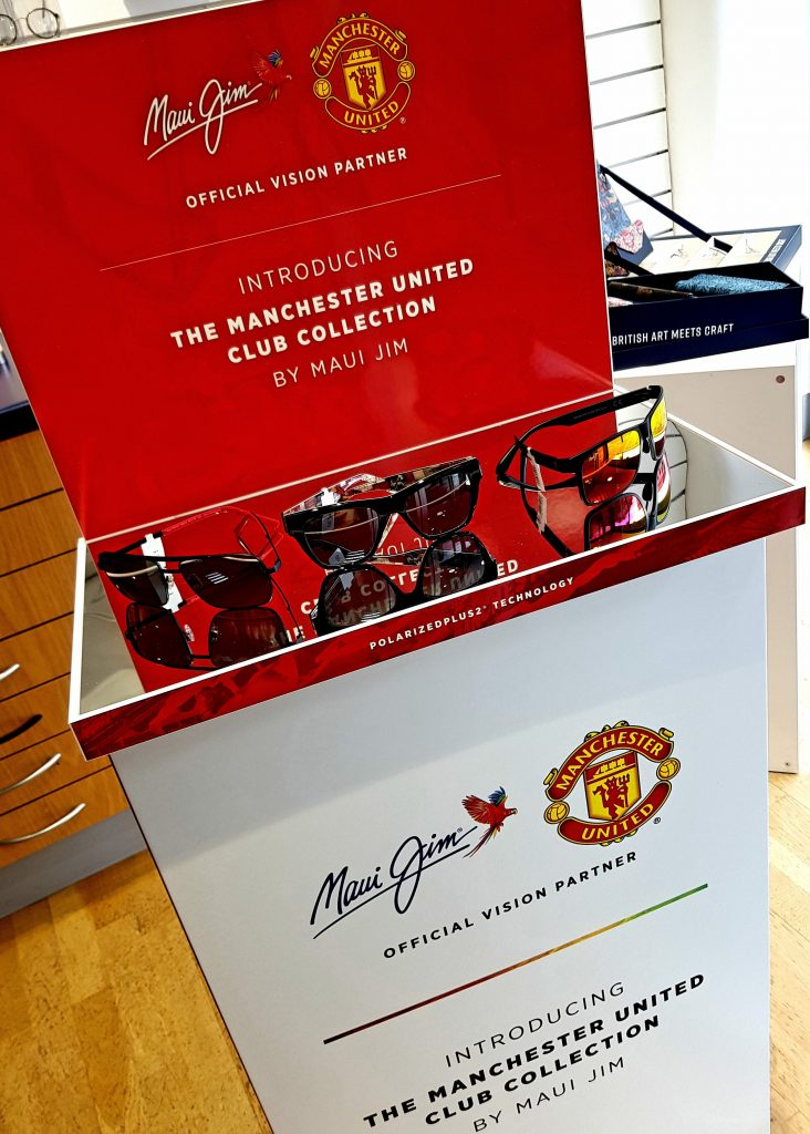 United with Maui Jim — introducing the new Man Utd Club Collection